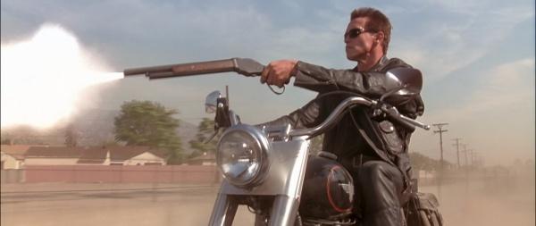 Drawn shotgun terminator 3 The John 2: at Terminator