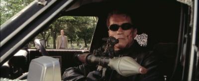 Drawn shotgun terminator 3 The of Internet as Schwarzenegger