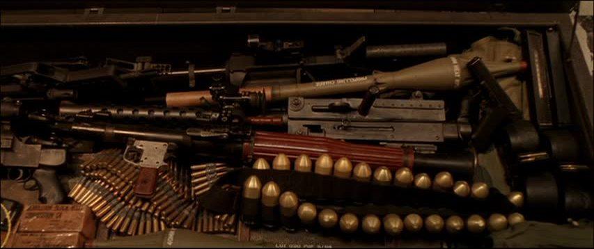 Drawn shotgun terminator 3 Machines the Terminator: arsenal coffin