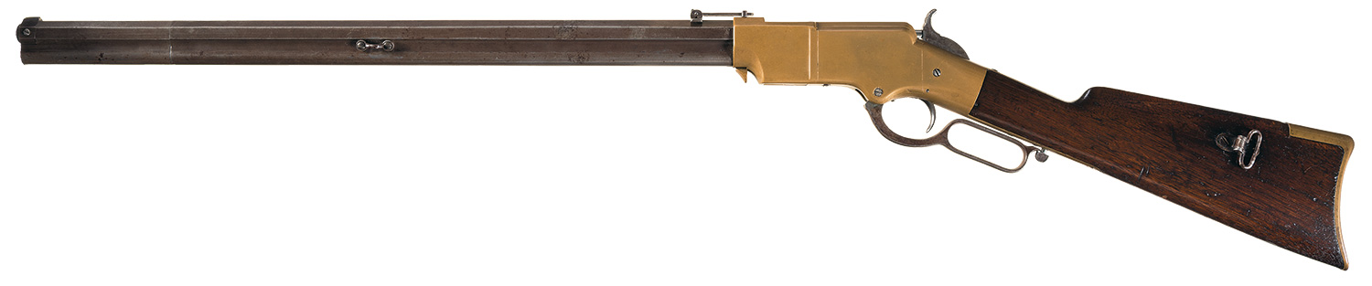 Drawn shotgun war gun A estimate Henry how Auction