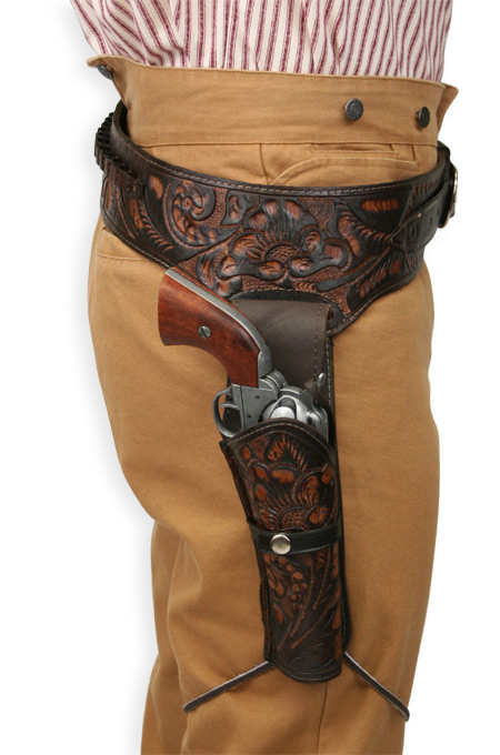 Drawn shotgun western gun And Style Vintage Holsters