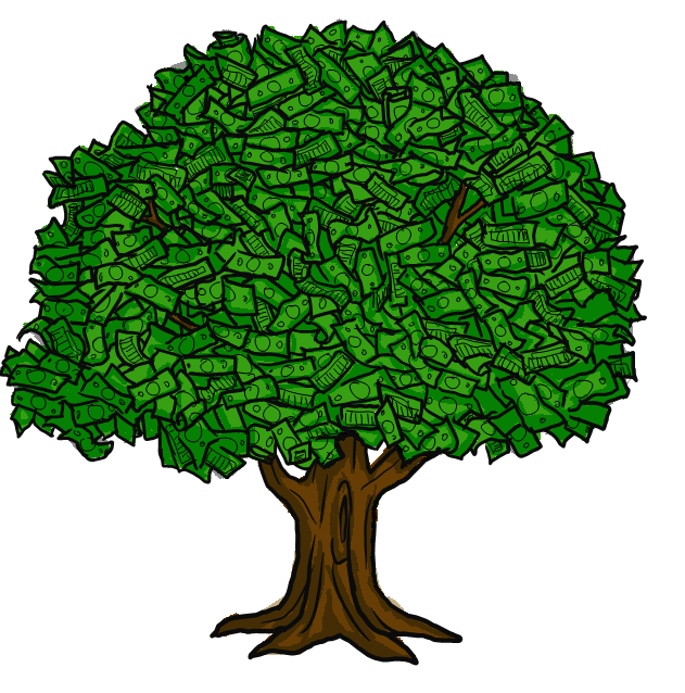 Money clipart money tree Assemblies brothers Daily 9 proof