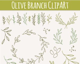 Branch clipart animated / Photoshop Drawn Hand //