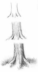 Drawn shrub step by step To drawing trees Drawing Google