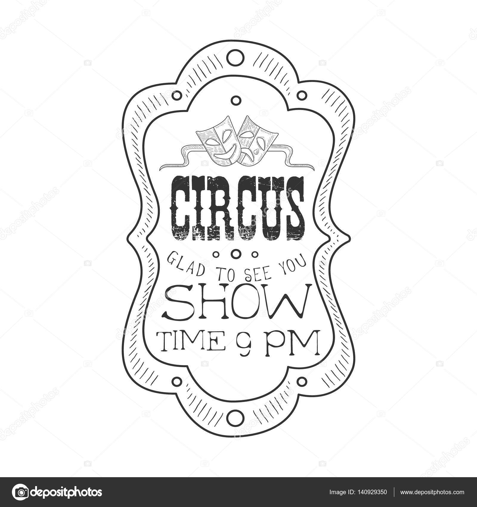 Drawn sign circus In Pencil Drawn Hand Sign