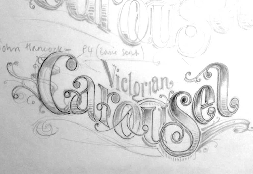 Drawn sign circus New Style Draughtsman Circus The