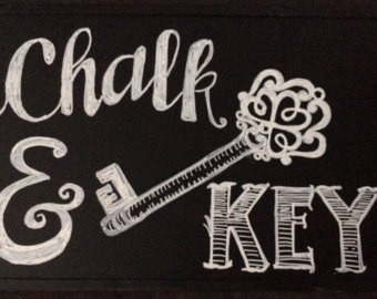 Drawn sign custom Signs Hand Sign Chalkboard Etsy