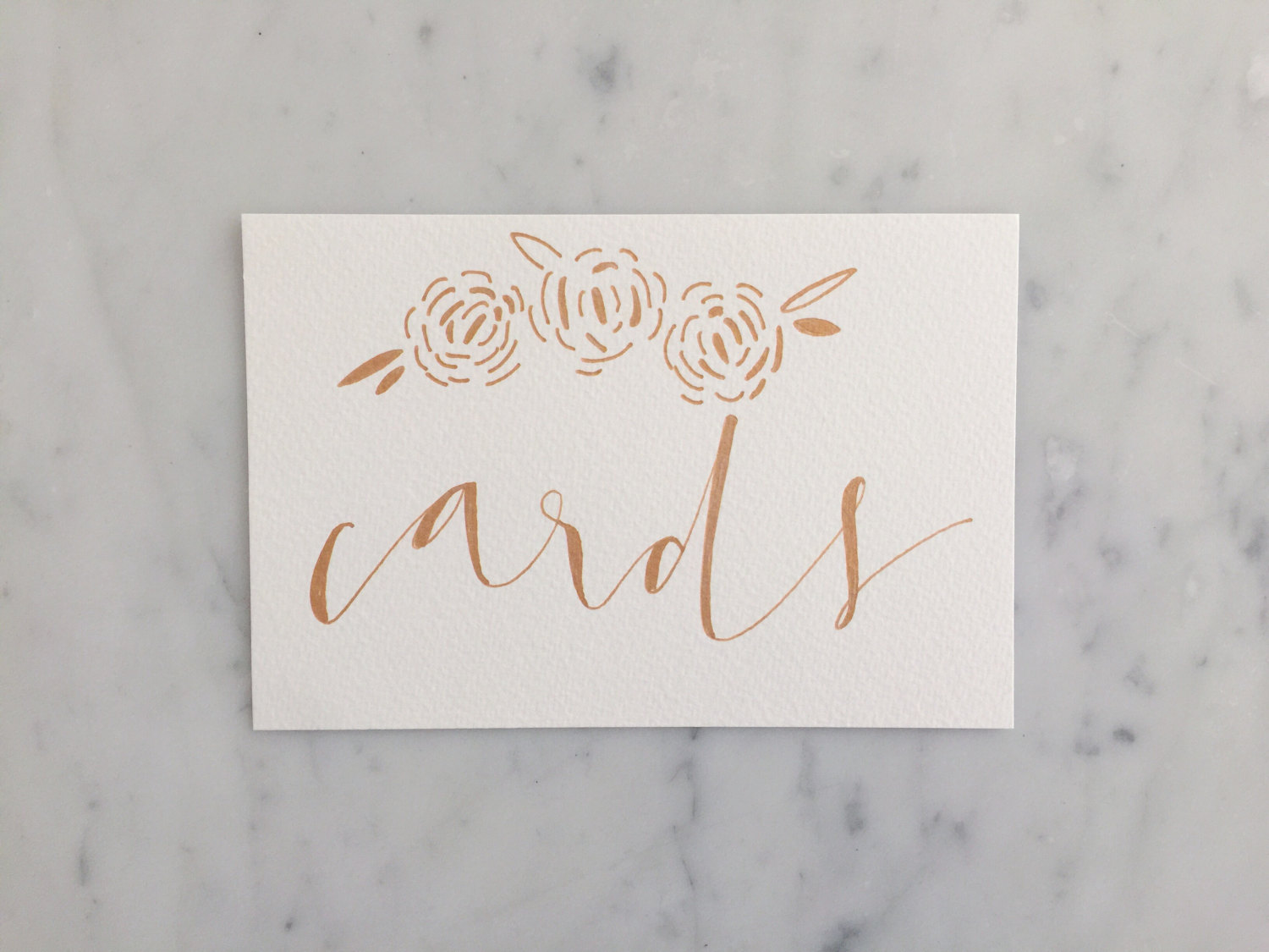 Drawn sign custom  4 / Lettering Rose