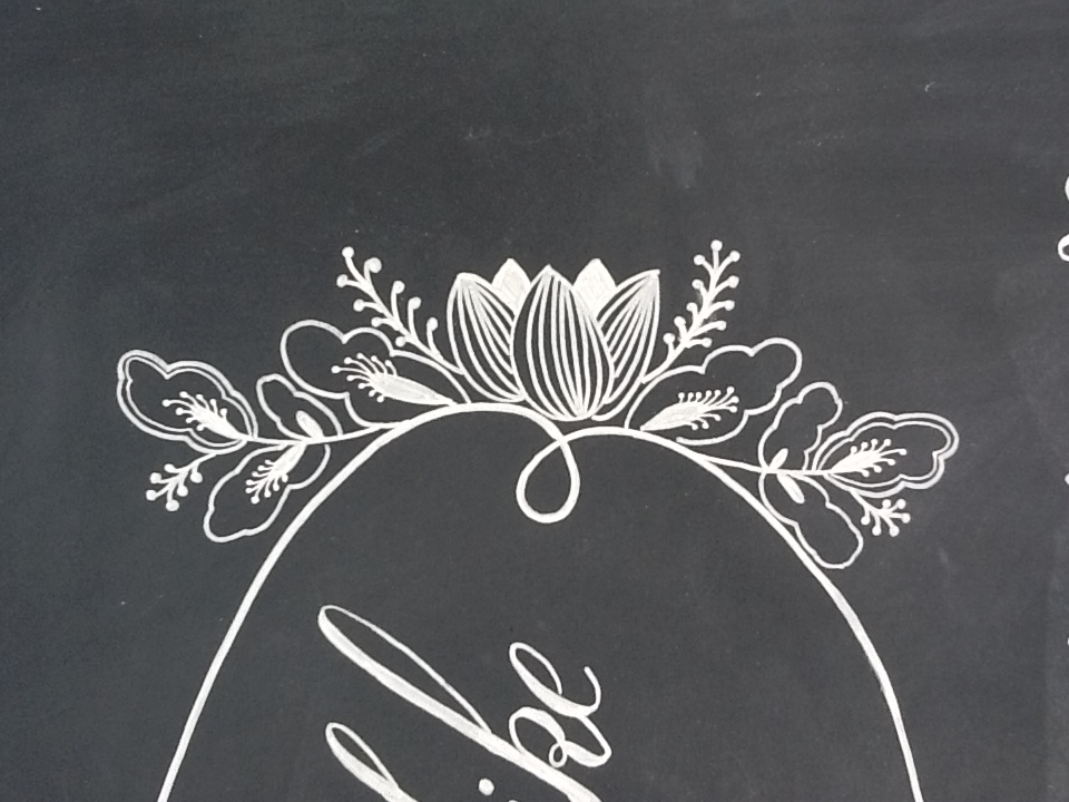 Drawn sign handmade Details Handmade chalkboard by Handmade