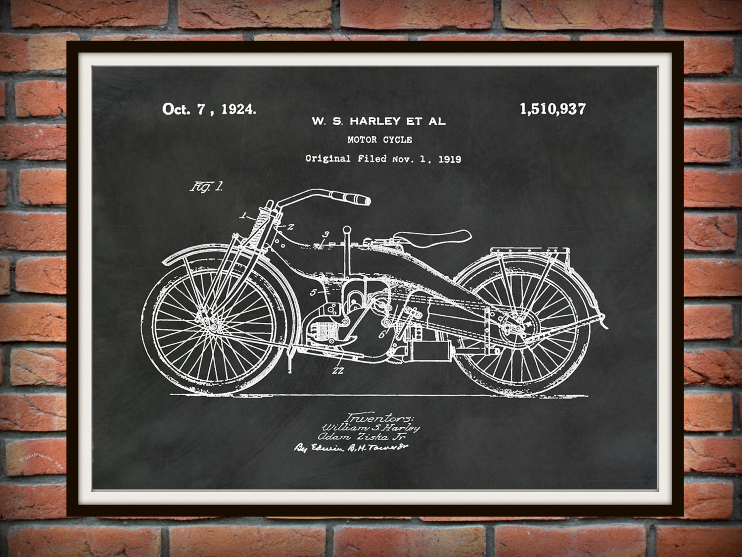 Drawn bike motor #11