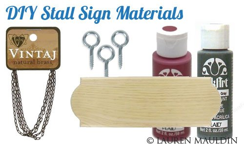 Drawn sign horse stall Stall Hand Texas Sign She