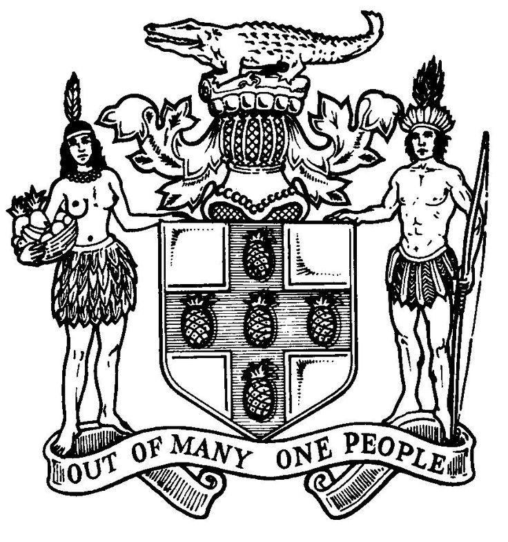 Drawn sign jamaican Coat Tattoo carollmay Pinterest arms