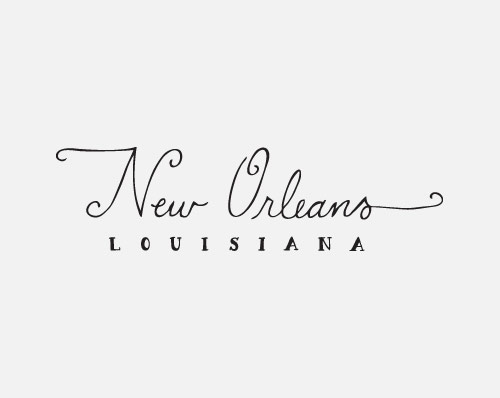 Drawn sign new orleans Of Buckley  Scout's Designer: