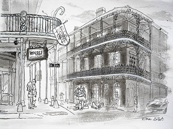 Drawn sign new orleans New Orleans Gilbert – Orleans