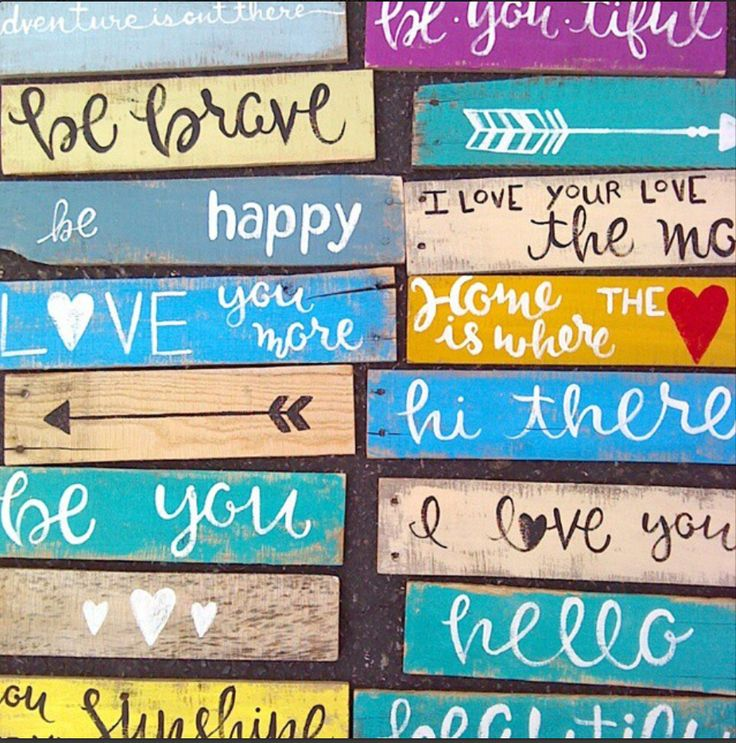 Drawn sign paint Boards pallet painted piece Pallet
