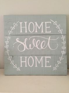 Drawn sign pallet Rustic Great Hand and Wood