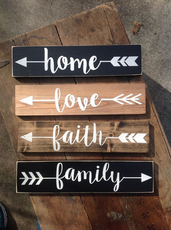 Drawn rope wooden sign Painted 25+ Home Hand Memories