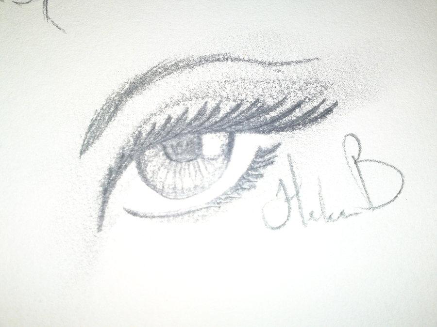 Drawn simple Eye drawn Helen Eye by