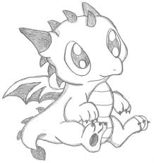 Drawn simple dragon Image result baby to dragons