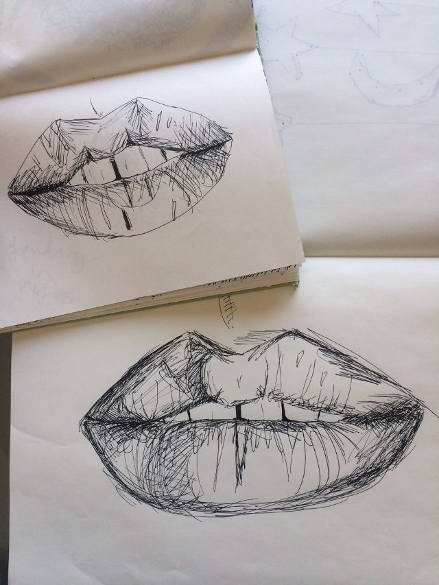 Drawn simple lip tumblr On ideas Pinterest Lips this