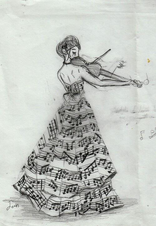 Drawn singer #3