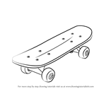 Drawn skateboard #13