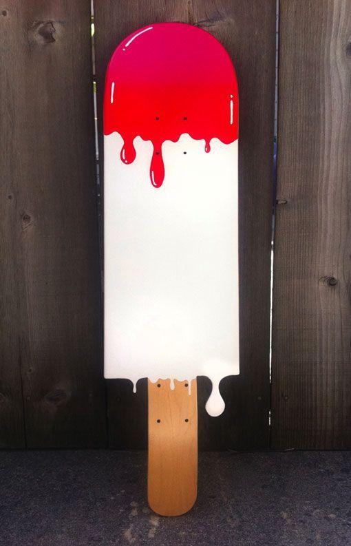 Drawn skateboard plywood Graphic design Cool 39 Skateboard