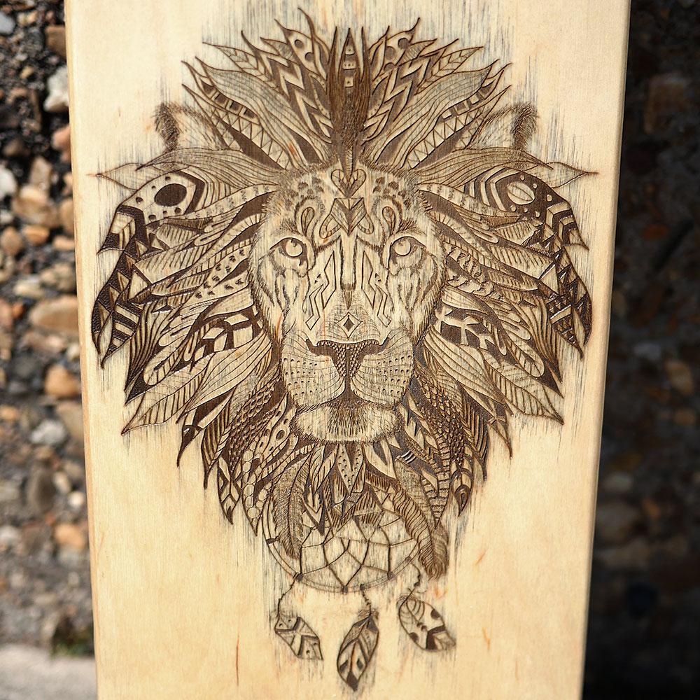 Drawn skateboard plywood Close Up People Baltic Skate