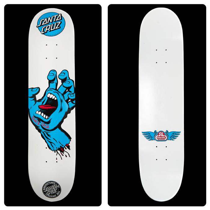 Drawn skateboard screaming hand  Honors SE Hand se_sc_decks