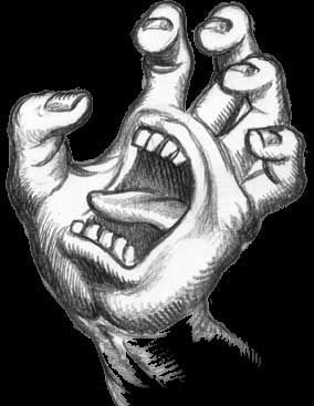 Drawn skateboard screaming hand Images by on Pinterest hand