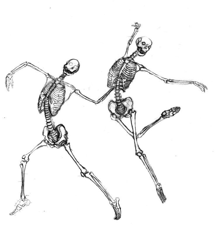 Drawn skeleton dancing A Best Skeleton Skeleton ideas