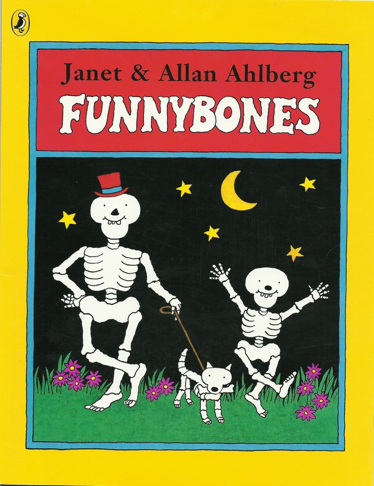 Drawn skeleton funnybones Books J on I Bones'