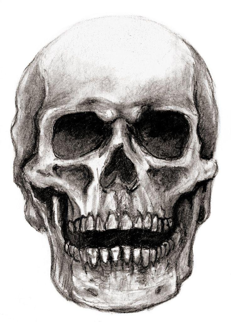 Drawn skeleton skull Art/craft REMEMBER Skull Odd Odd