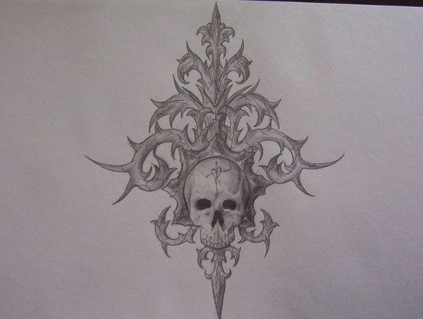 Drawn skull gothic skull Best Pinterest 29 Drawings ruledbyrammstein