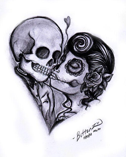 Drawn skull pinter Tattoos Inspire Be Cute To