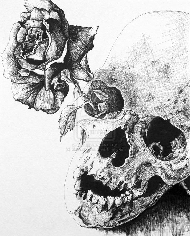 Drawn skull pinter Odd Pinterest Calaveras Drawing Odd