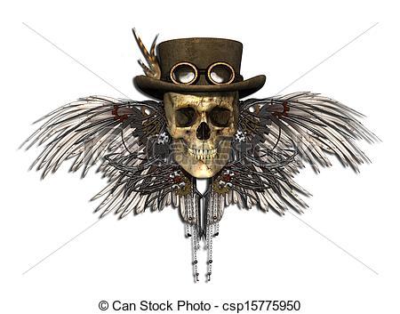 Drawn skull steampunk Steampunk Skull Steampunk Steampunk Skull