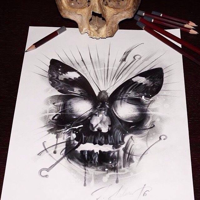Drawn skull unique 1261 best on Skull this