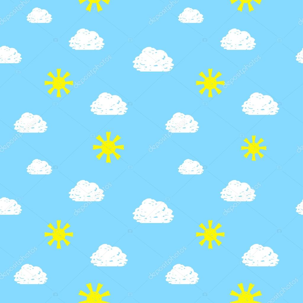 Drawn sky  Sky Vector Pattern Hands