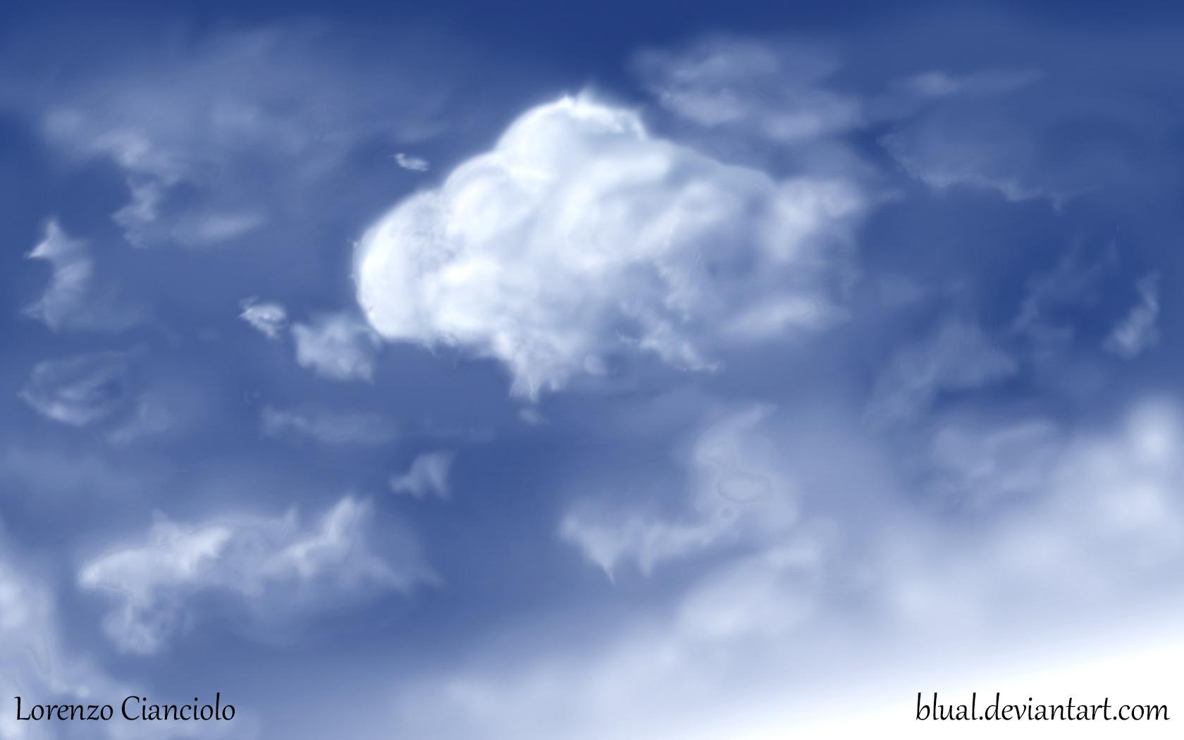 Drawn sky Drawn Hand 02 sky on