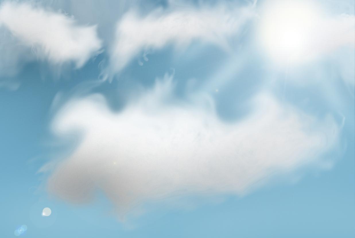 Drawn sky day time Reverse Filename: Sky png Drawn