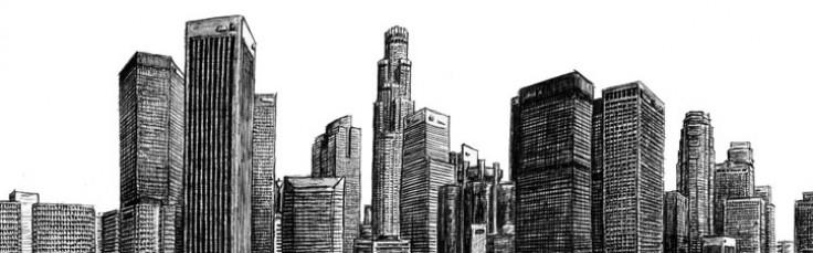 Drawn skyline #3