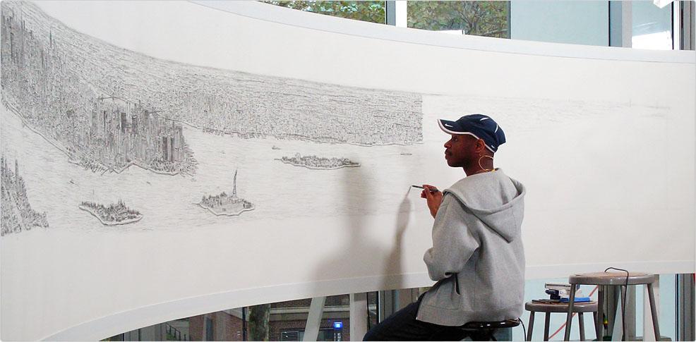 Drawn skyline autism & Autism Art At