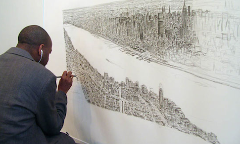 Drawn skyline autism Skyline  london artist wiltshire