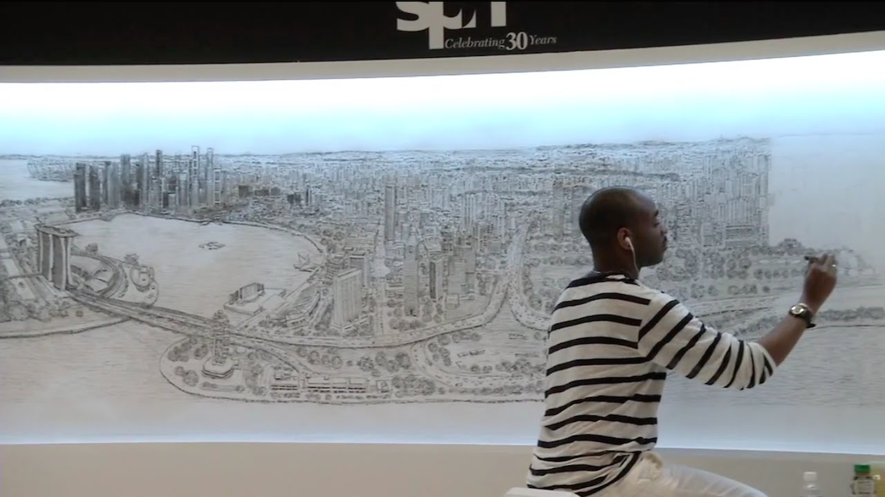 Drawn skyline autistic child Incredibly Singapore The Draws From