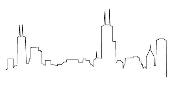 Drawn skyline cartoon Possible  Pinterest Wedding invitation/coozies/table
