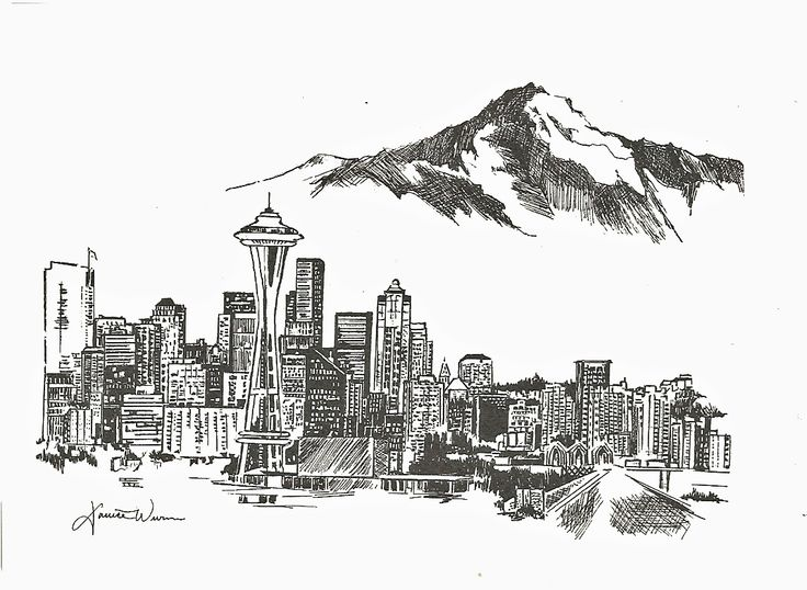 Drawn skyline doodle Francisco ideas San Pinterest skyline