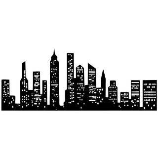 Drawn skyline easy Silhouette york drawings skyline Pinterest