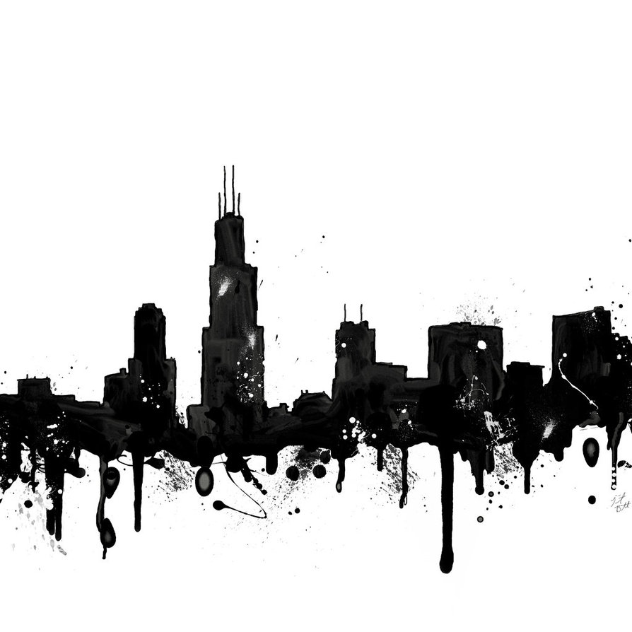Drawn skyline graffiti skyline Skyline TrinityJeanBennett TrinityJeanBennett Skyline Chicago