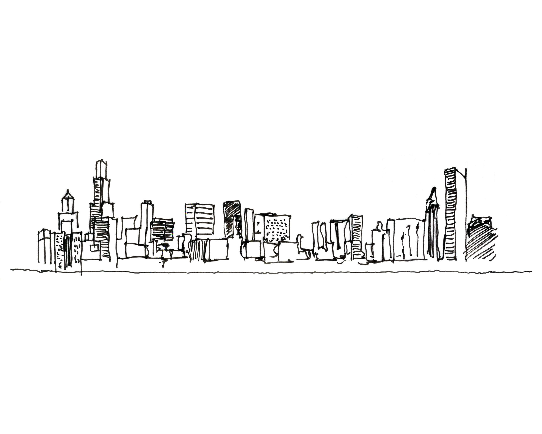 Drawn skyline hand drawn Of 2012  Studio Spring